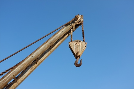 Arm of a  crane, copy space available Stock Photo - 13054003