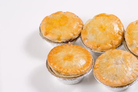 Assortes steak, kidney and mince pies Stock Photo - 13352904
