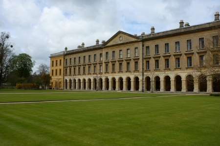 college campus: The New Building of Oxford Magdalen College