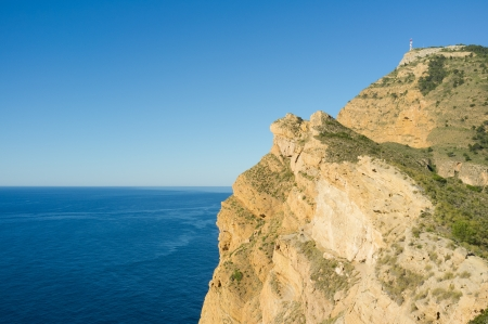 The dramatic cliffs of Sierra Helada, Costa Blanca, Spain Stock Photo - 13991803