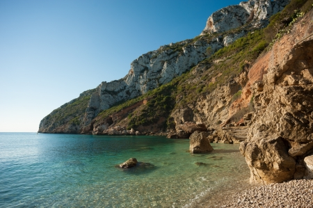 Calm and translucent waters on the Costa Blanca