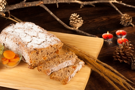 Whole wheat Christstollen, a healthy version of a German Christmas classic photo