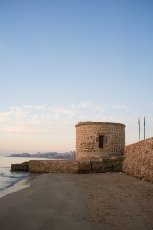 Old fortification on Torrevieja coast, Costa Blanca, Spain Stock Photo - 15766084