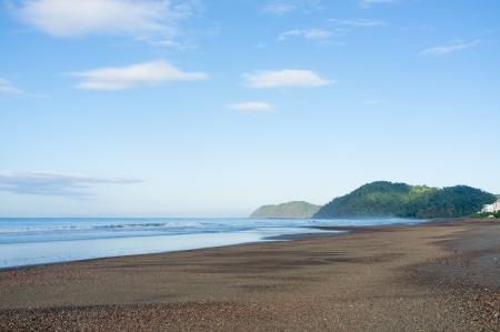 Early morning on Jaco beach, Costa Rica photo