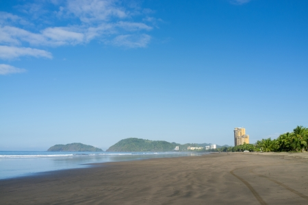 Scenic Costa Rican Pacific coast beach resort photo