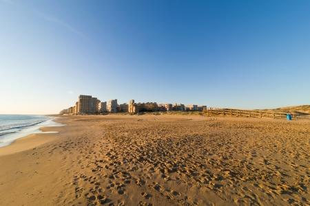 costa blanca: Arenales beach resort in early morning light, Costa Blanca, Spain