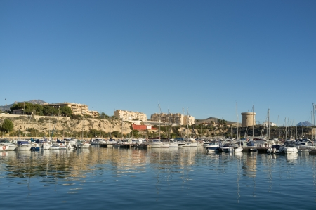 costa blanca: Campello port and marina, Costa Blanca, Spain