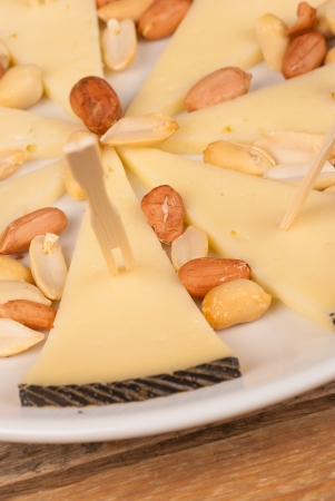 andalusian cuisine: Spanish sheep cheese, served as a tapa