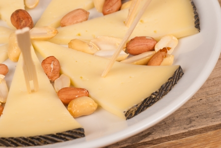 andalusian cuisine: Spanish sheep cheese, known as manchego, served as a tapa