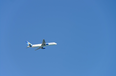 ALICANTE, SPAIN-  MARCH 20th : Thomas Cook plane takes off from Alicante Airport. Thomas Cook is a UK based joint airline and tour operator