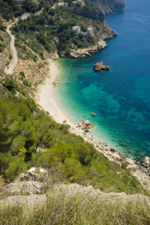 costa blanca: Beautiful beach off the beaten track on Costa Blanca, Spain