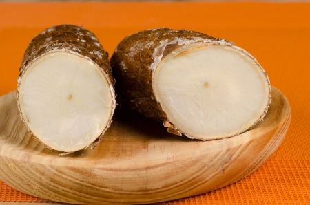 food staple: Manioc  yuca , a South and Central American food staple