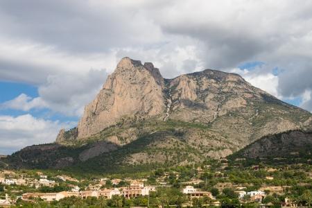 costa blanca: Puigcampana mountain and peak, Costa Blanca, Spain