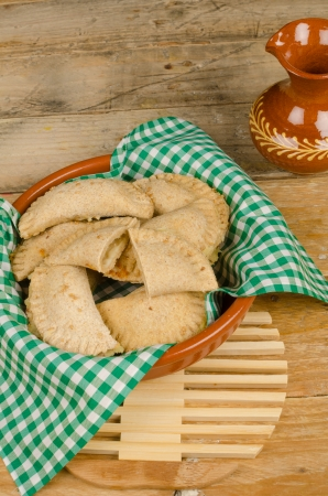 Traditional bourek,  a sweet stuffed pasty