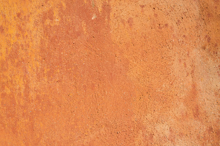 stippled: Full frame take of a grunge red wall plaster Stock Photo