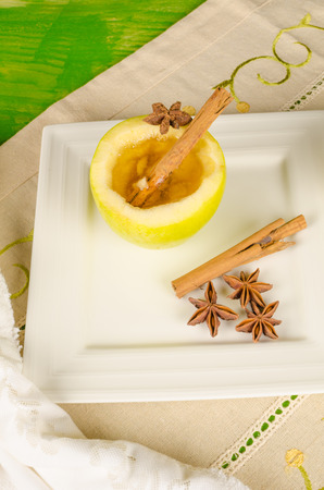 grog: Cider grog scente with anise and cinnamon Stock Photo