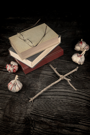 exorcism: Old books and objects related to exorcism