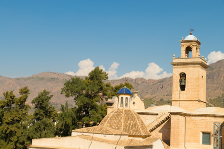 costa blanca: Old churches under Mediterranean sun, Orihuela, Costa Blanca