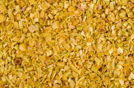 dehydrated: Full frame take of dehydrated citronella, a food background Stock Photo