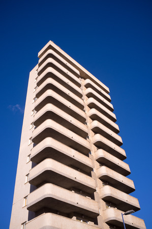 high rise building: High rise building against the blue sky