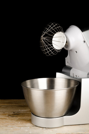 food processor: Modern food processor with a whisk tool