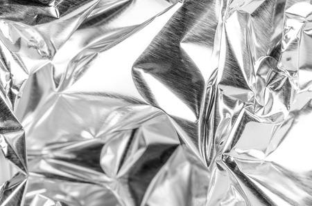 crinkle: Full frame take of a sheed of crumpled aluminum foil