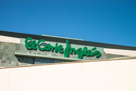 refused: ALMERIA, SPAIN - MARCH 2: El Corte Ingles department store. Largest department store group in Europe and fourth worldwide, it has so far refused to go public.