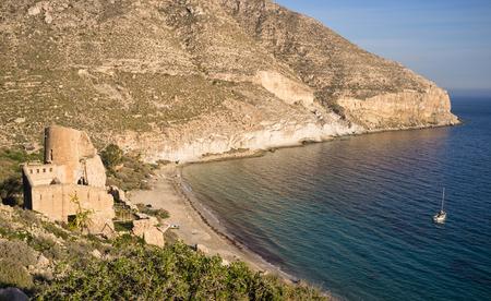 san pedro: Scenic San Pedro bay on the sunny Andalusian coast