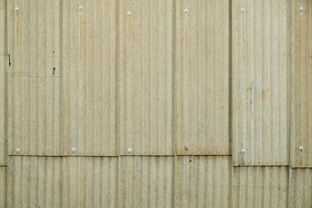 shantytown: Weathered corrugated iron used as facade cladding