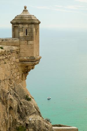 santa barbara: Alicante Santa Barbara castle with Mediterranean views