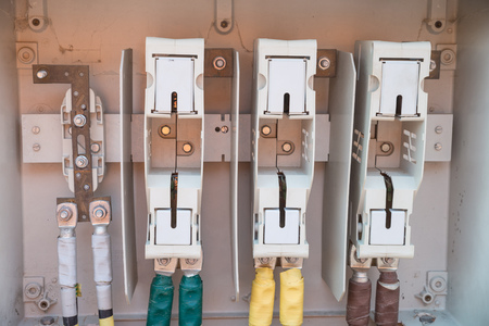 conduit box stock photos pictures royalty conduit box conduit box detail take of an unfinished fuse box on a construction site