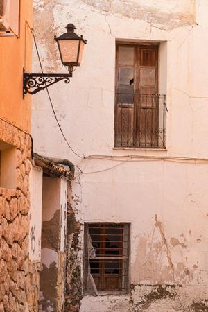 costa blanca: Mediterranean architecture of an old town on Costa Blanca, Spain