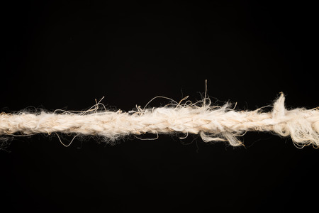 strained: Rope about to break, a stress concept
