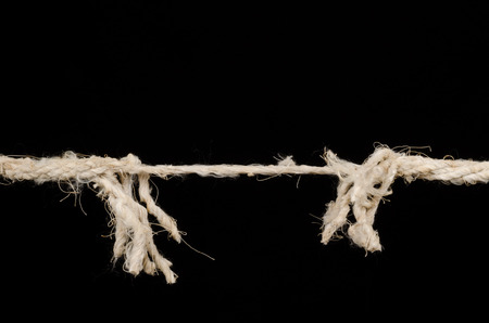 Rope about to break, a stress concept