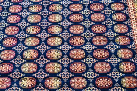 oriental rug: Full frame take of a carpet pattern