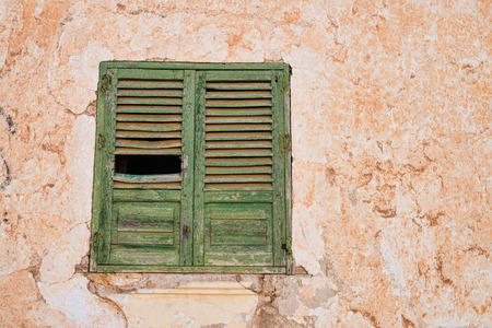 Old shutters in a state of disrepair
