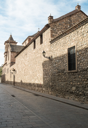old town: Jesuit church in Cordoba old town, Argentina