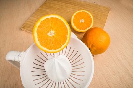 halved  half: Domestic juicer
