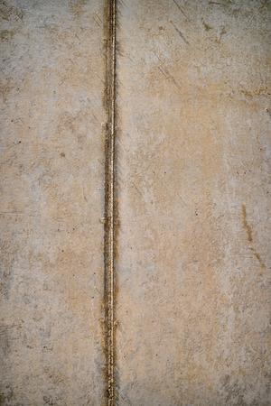 constrution: Detal take of a cast concrete surface