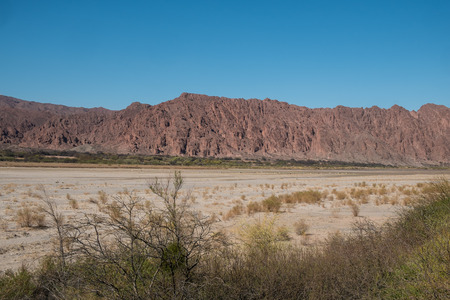 andes: Valley in the Argentinian Andes