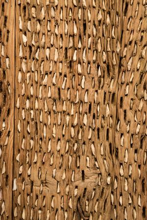 flint: Vintage thresher made of wood and flint stone.