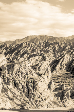 geological feature: Lunar landscapes in the Argentinian Andes in Salta province