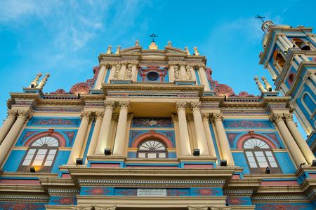 colonial church: Virgen de la Candelaria church in Salta, Argentina