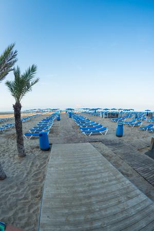 blanca: Benidorm beach resort, Costa Blanca, Spain