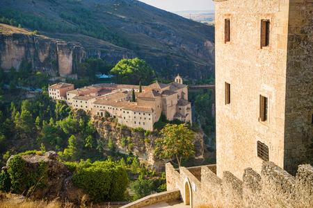 castilla la mancha: Cuenca old town architecture, Castilla La Mancha, Spain