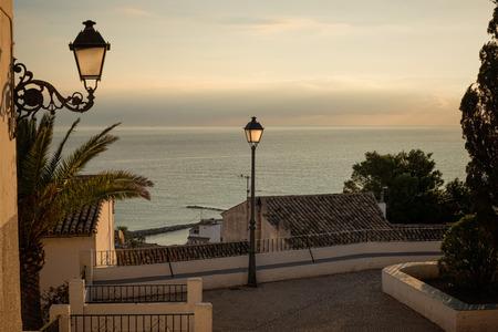 Scenic Altea old town location, Costa Blanca, Alicante, Spain
