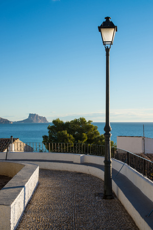 Altea bay as seen from its hilltop old town