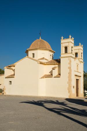 San Rafael chapel in Costa Blanca resort La Nucia, Spain.