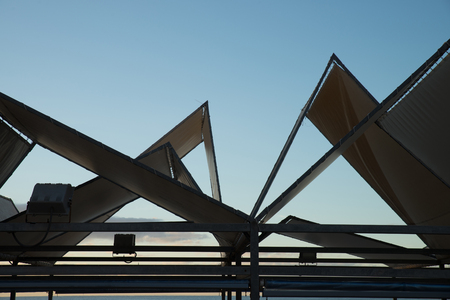 Aluminium roof top in triangular and pyramidal shapes