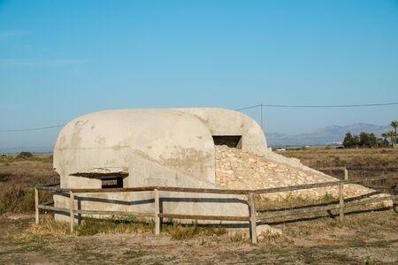 Old Spanish bunker for the times of the Civil War